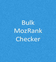 Bulk MozRank Checker