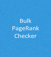 Bulk PageRank Checker