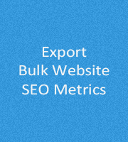 Export Bulk Website SEO Metrics