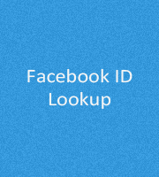 Facebook ID Lookup