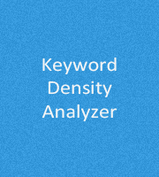 Keyword Density Analyzer