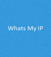 Whats My IP